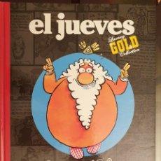 Cómics: EL JUEVES LUXURY GOLD COLLECTION DIOS MIO LA BIBLIA CONTADA A LOS PASOTAS. Lote 222077866