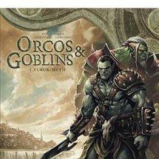 Cómics: CÓMICS. ORCOS Y GOBLINS 01. TURUK / MYTH - ISTIN/SYLVAIN/SAITO/LORUSSO (CARTONÉ). Lote 222080213