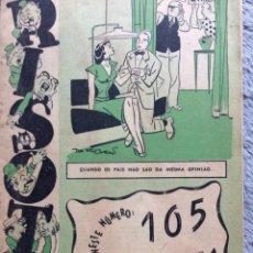 Cómics: RISOTA,( N.º 3).5 MARÇO DE 1952. MUY ESCASA. EN PORTUGUÉS.. Lote 222084278
