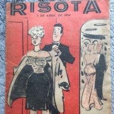 Cómics: RISOTA, N.º 53N. 5 DE ABRIL DE 1954. EN PORTUGUÉS.. Lote 222084731