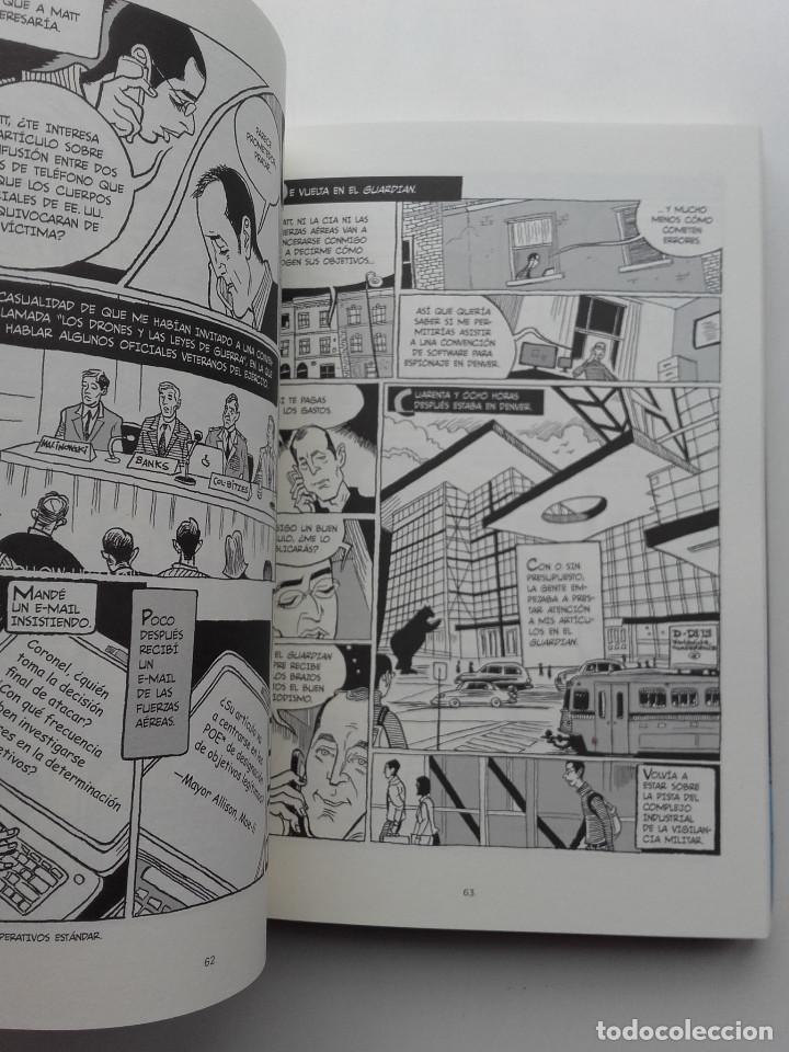 Cómics: VERAX. LA VERDADERA HISTORIA DE LA VIGILANCIA MASIVA Y LA GUERRA DE LOS DRONES - ED. SALAMANDRA - Foto 4 - 222133701
