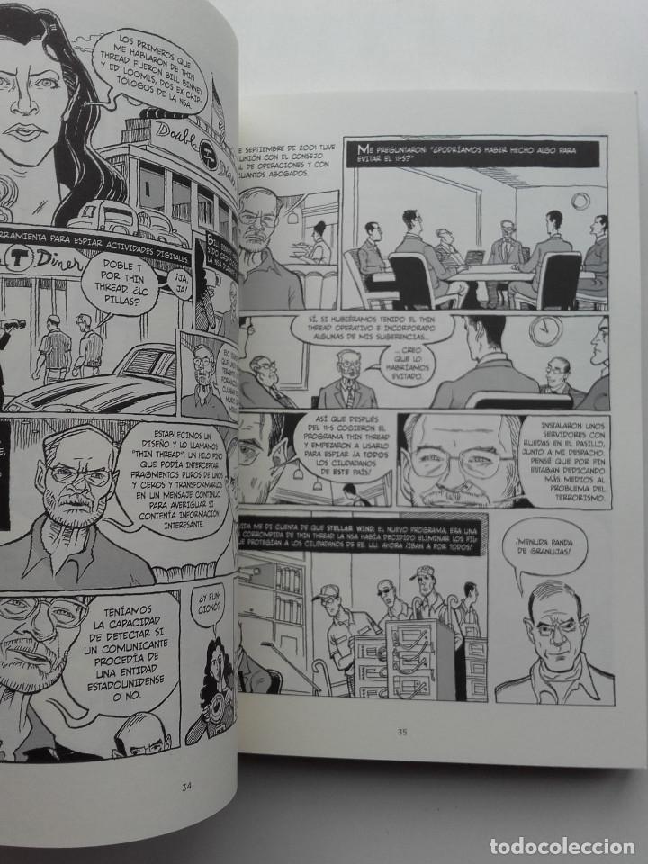 Cómics: VERAX. LA VERDADERA HISTORIA DE LA VIGILANCIA MASIVA Y LA GUERRA DE LOS DRONES - ED. SALAMANDRA - Foto 5 - 222133701