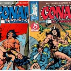 Cómics: CONAN EL BARBARO - COMPLETA 1 AL 98 - FORUM 1998. PERFECTA.. Lote 222146307