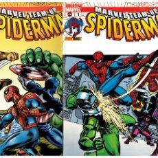 Cómics: MARVEL TEAM-UP SPIDERMAN. COMPLETA 1 AL 18. PANINI. EXCELENTE.. Lote 222161402