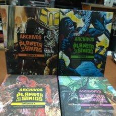 Comics: EL PLANETA DE LOS SIMIOS - ARCHIVOS - LIMITED EDITION. COMPLETA 4 TOMOS.PANINI.NUEVOS,SIN ABRIR.. Lote 222163055