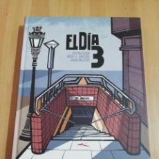 Cómics: EL DÍA 3 (CRISTINA DURÁN / MIGUEL Á. GINER BOU / LAURA BALLESTER). Lote 288409488