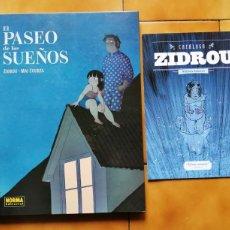 Cómics: EL PASEO DE LOS SUEÑOS POR ZIDROU Y MAI EGURZA - NORMA EDITORIAL. Lote 222217736