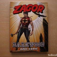 Cómics: ZAGOR - DARWOOD - AÑO CERO - TAPA DURA - ALETA - NUEVO. Lote 222224890