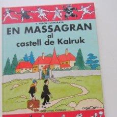 Cómics: MASSAGRAN AL CASTELL DE KALRUK. MADORELL Nº14. ED. CASALS MOLT DIFICIL ARX6. Lote 222229175