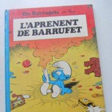 Cómics: ELS BARRUFETS. L'APRENENT DE BARRUFET. PEYO. CATALÁN ARX6. Lote 222229275