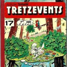 Cómics: ALBUM L'INFANTIL TRETZEVENTS Nº 17 1973, AMB 11 NUM. 186 187 188 189 190 191 192 193 194 195 196-197. Lote 222229537