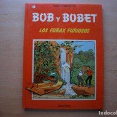 Cómics: BOB Y BOBET - LOS FURAX FORIOSOS - TOMO 1 - TAPA DURA - PLAZA JOVEN - BUEN ESTADO. Lote 222230151
