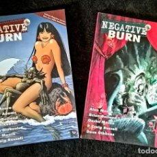 Cómics: NEGATIVE BURN (2 TOMOS - COMPLETA) ALAN MOORE, ARTHUR ADAMS - RECERCA 2007 ''MUY BUEN ESTADO''. Lote 222233236
