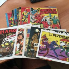 Cómics: LOTE 17 COMICS FACSIMIL CAPITAN TRUENO, PURK HOMBRE DE PIEDRA, KIT BOY, JIM DIAMOND (COIB149). Lote 222241475