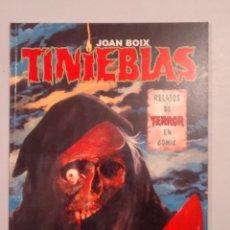 Cómics: TINIEBLAS DE JOAN BOIX. Lote 222247196