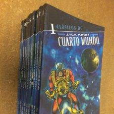 Cómics: CLÁSICOS DC. EL CUARTO MUNDO (JACK KIRBY) - COMPLETA, 10 TOMOS. Lote 222247523