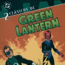 Cómics: CLÁSICOS DC. GREEN LANTEN Nº 2 (E.C.: 9,5/10). Lote 222247538