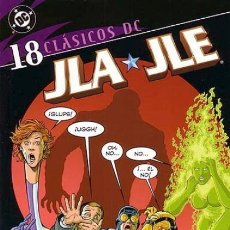 Cómics: CLÁSICOS DC. JLA / JLE Nº 18 (ÚLTIMO NÚMERO). Lote 222247540