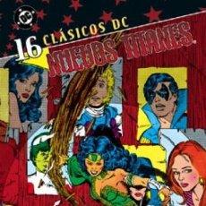 Cómics: CLÁSICOS DC. NUEVOS TITANES Nº 16. Lote 222247558
