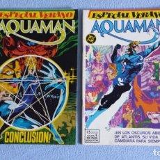 Fumetti: MINISERIE COMPLETA 2 NUMEROS, ESPECIAL VERANO AQUAMAN, FORUM, ESTADO NUEVO. Lote 222365037