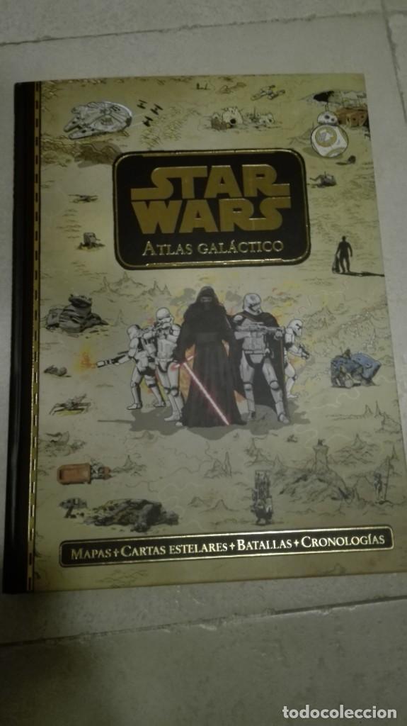 SELLOS + ATLAS GALÁCTICO STAR WARS EDICIÓN LIMITADA, VER FOTOS (Tebeos y Comics - Comics Pequeños Lotes de Conjunto)