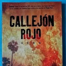 Cómics: CALLEJON ROJO - NORMA 2004 ''MUY BUEN ESTADO'' (FOTOS). Lote 222404132