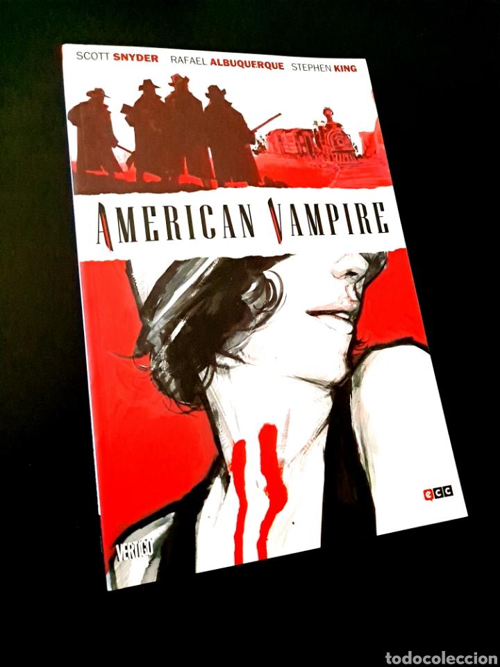 DE KIOSCO AMERICAN VAMPIRE STEPHEN KING ECC VERTIGO (Tebeos y Comics - Comics otras Editoriales Actuales)
