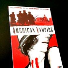 Cómics: DE KIOSCO AMERICAN VAMPIRE STEPHEN KING ECC VERTIGO. Lote 222419681