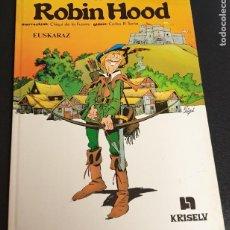 Cómics: ROBIN HOOD ANONIMOA COLECCIÓN LITERATURA IKUSGARRIA Nº 1 KRISELU AÑO 1987. Lote 222457141