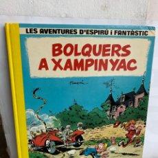 Fumetti: BOLQUERS A XAMPINYAC.LAS AVENTURAS D'ESPIRU I FANTASTIC. FRANQUIN. Lote 222464803