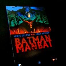 Cómics: DE KIOSCO BATMAN MANBAT ECC JAMIE DELANO. Lote 222546327