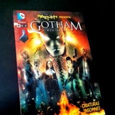 Cómics: DE KIOSCO BATMAN PRESENTA GOTHAM A MEDIANOCHE CRIATURAS INSOMNES ECC. Lote 222547140