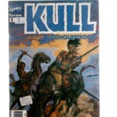 Cómics: KULL EL CONQUISTADOR - NUMERO 8 - FORUM. Lote 222657670