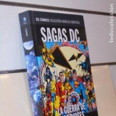Cómics: COLECCION NOVELAS GRAFICAS SAGAS DC 3 ESPECIAL LA GUERRA DE LOS DIOSES Y ARMAGE. - ECC SALVAT OFERTA. Lote 222690461