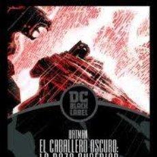 Cómics: BATMAN EL CABALLERO OSCURO LA RAZA SUPERIOR (LINEA DC BLACK LABEL) ECC CARTONE - IMPECABLE - OFI15F. Lote 222697966