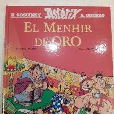 Cómics: ASTÉRIX. EL MENHIR DE ORO - RENÉ GOSCINNY, ALBERT UDERZO - SALVAT. Lote 222703386