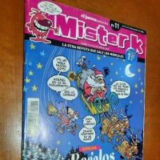 Cómics: MISTER K 11. GRAPA. HUMOR. BUEN ESTADO. VARIOS AUTORES. DE EL JUEVES.. Lote 222844413