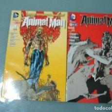 Cómics: ANIMAL MAN 1 2 ECC. Lote 222852466