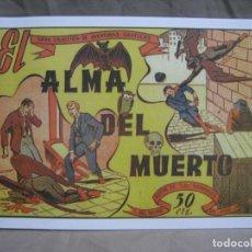 Cómics: EL ALMA DEL MUERTO. MARCO. FACSIMIL. Lote 222887496
