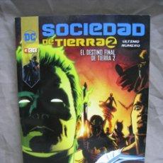 Cómics: SOCIEDAD DE TIERRA 2. EL DESTINO FINAL DE TIERRA 2. ECC. 2017. Lote 222888240