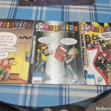 Cómics: MALAVIDA TRES COMICS. Lote 223206866