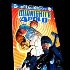 Cómics: DE KIOSCO MIDNIGHTER Y APOLO UNIVERSO DC RENACIMIENTO ECC. Lote 223224571
