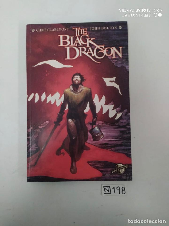 THE BLACK DRAGÓN (Tebeos y Comics Pendientes de Clasificar)