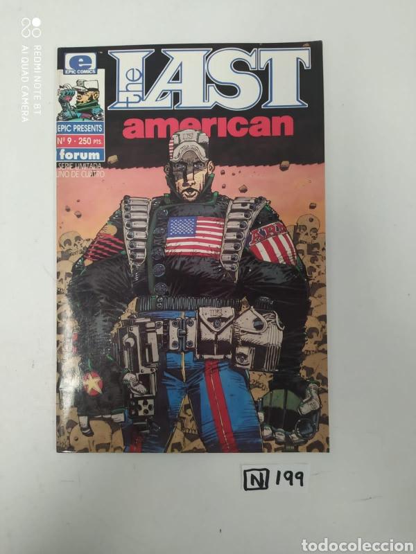 THE LAST AMERICAN (Tebeos y Comics - Comics Colecciones y Lotes Avanzados)
