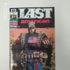 Cómics: THE LAST AMERICAN. Lote 223293535