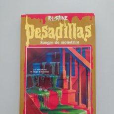 Cómics: PESADILLAS. Lote 223294656