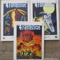 Comics : COLECCION COMPLETA - LOS 4 FANTASTICOS - GRANDES HEROES DEL COMIC - BIBLIOTECA EL MUNDO. Lote 223440561