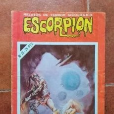 Cómics: ESCORPION NUM 79 RELATOS DE TERROR SICOLOGICO. Lote 254800005