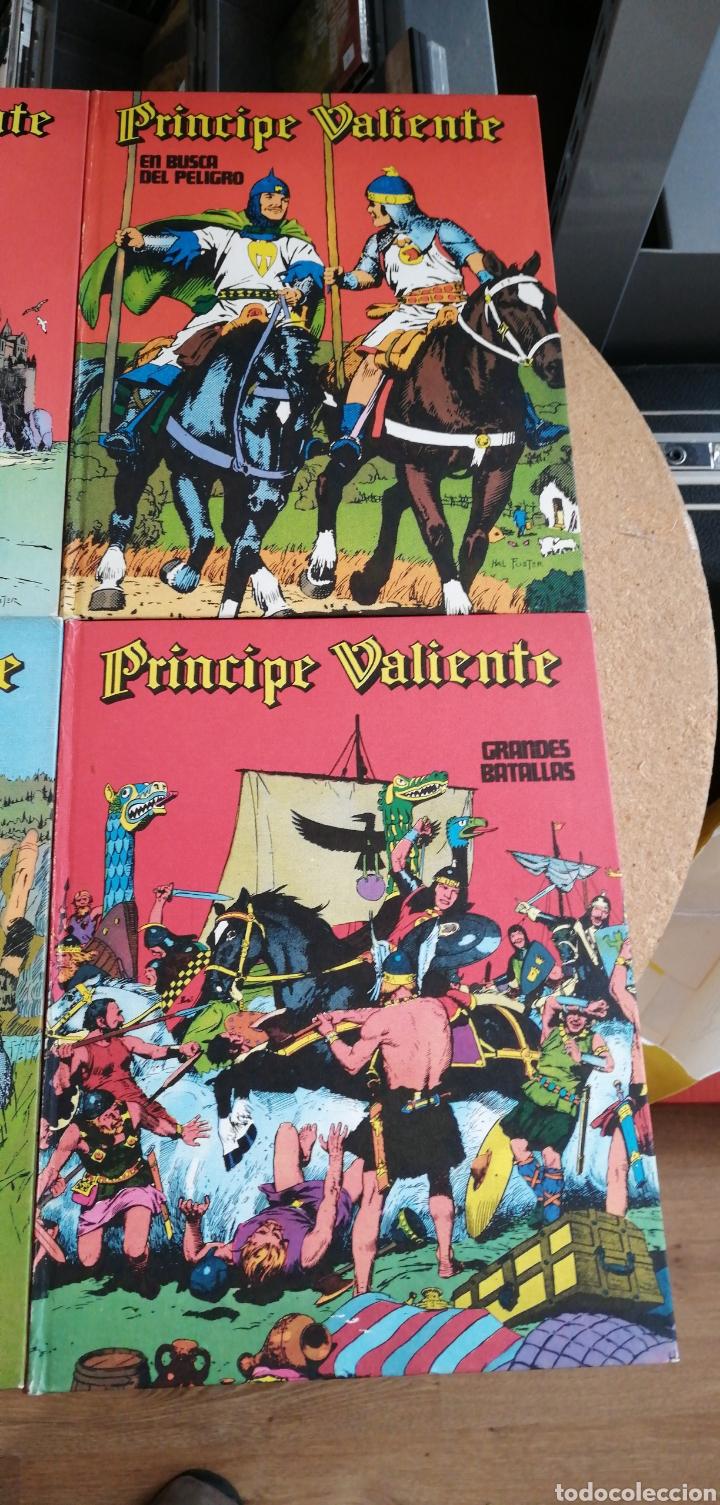 Cómics: 8 tomos el príncipe valiente buru Lan 1972 - Foto 5 - 223450056