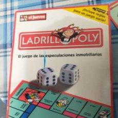 Cómics: EL JUEVES.LADRLLOPOLIS JUEGO.COMO SE VE. Lote 223465832